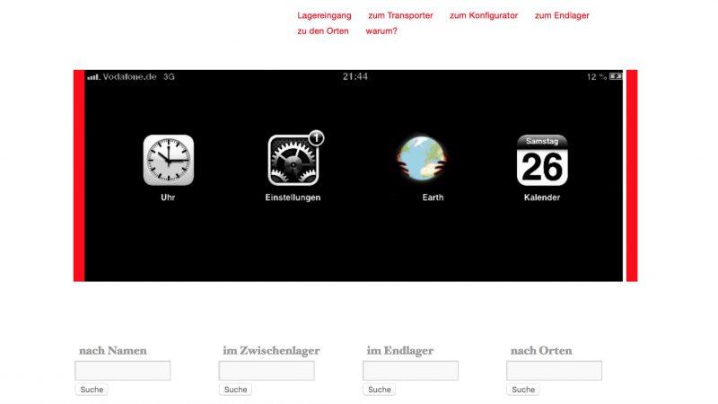 Digitales Spiegelbild Netzkusnt von Thorsten Belzer